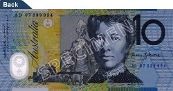 $10 Note - Dame Mary Gilmore