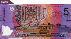 $5 Note - Parliament House