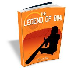 3D E-Book Cover Of The Legend Of Bimi