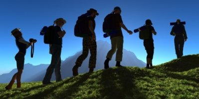 Backpackers Touring
