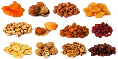 Dried fruit & nuts available at Angas Park Fruit