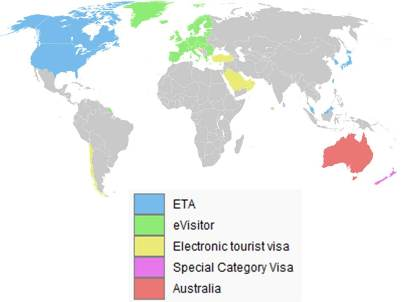 Australian Travel Visa